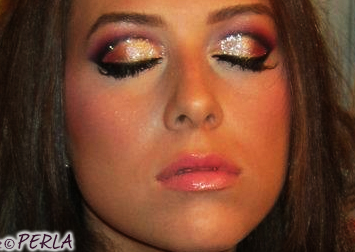 maquillage mariage orange